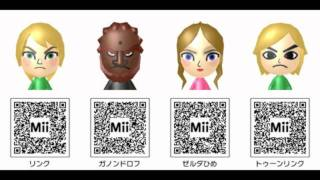 Hundreds of Miis to get ideas from.