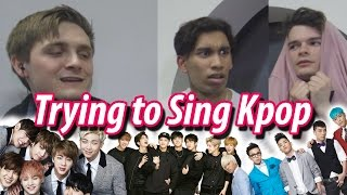 Now with English subtitles! / 한국어 자막을 영상에 추가하실 수 있어요!Kpop Dance Test  Kpopsteve https://youtu.be/qbYwTN5UZuM?list=PLjlkxMHp1pQH_CVvll08Gx302oyOc-WznGuessing Korean Idol Age / 아이돌 나이 맞추기 https://youtu.be/Sq5Vf-Le0ZE?list=PLjlkxMHp1pQH_CVvll08Gx302oyOc-WznSUBSCRIBE & Press the Bell! http://bit.ly/KpopSteveTrying to sing Kpop when you don't listen to it is HARD...harder than you think kpop fans. My boy Liam gives it a go...and Steve and Ramin try to guess...this will be fun. Thanks Renée for the idea for this video!DISCLAIMER: I do not own any of the music used in this video. All rights go to their respective owners. The music in this video is used for entertainment purposes only.Hey guys it's KpopSteve - 케이팝스티브 here, making videos about kpop, k-culture and myself. Join the chaos by subscribing, you will probably regret it.Twitter - https://twitter.com/kpopsteve Instagram - https://instagram.com/kpopsteve/ Facebook - https://www.facebook.com/kpopsteveuk Facebook Group - https://www.facebook.com/groups/kpopsteve Twitch - https://www.twitch.tv/kpopsteveSnapchat - kpopsteve