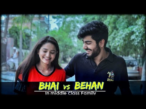Video Bhai VS Behan | In Middle Class Family | Awanish Singh download in MP3, 3GP, MP4, WEBM, AVI, FLV January 2017