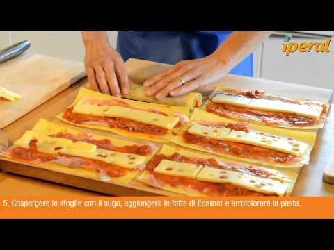 rotolini di pasta ripieni - ricetta