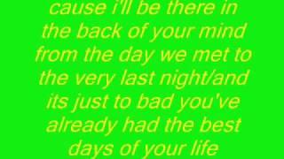 kellie pickler- best days of your life with lyrics