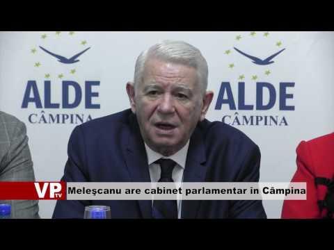 Meleşcanu are cabinet parlamentar în Câmpina