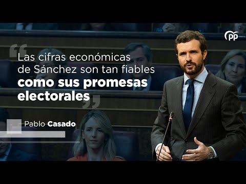 Las cifras económicas de Sánchez son tan fiables como sus promesas electorales
