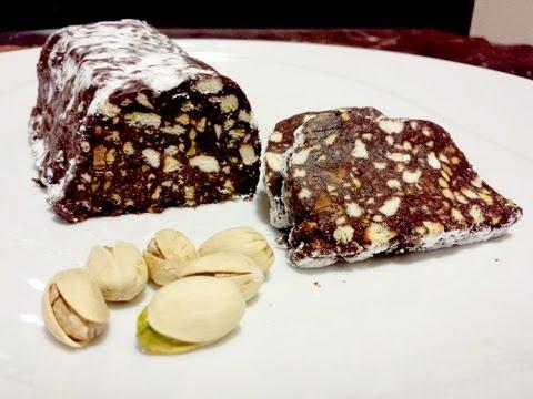 come cucinare il salame di cioccolato