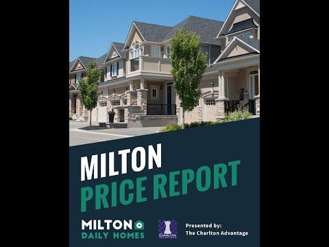 State of the Milton Real Estate Market – November/December 2016