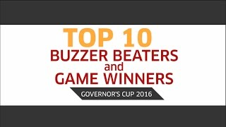 Top 10 Buzzer Beaters and Game Winners | PBA Governors' Cup 2016