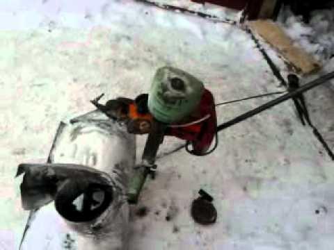 Самодельный снегоуборщик своими руками из бензопилы видео