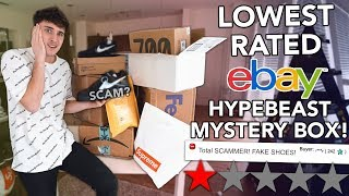 Video I Bought The LOWEST Rated EBAY Hypebeast Mystery Boxes! MP3, 3GP, MP4, WEBM, AVI, FLV Januari 2019