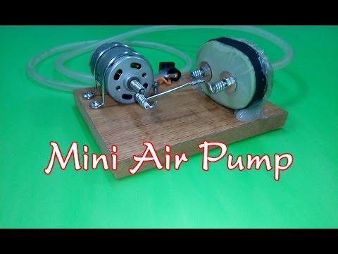 How to Make a Mini Air Pump v2 Mini aquarium air pump