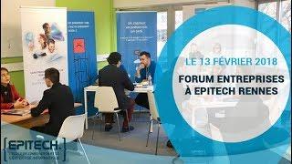 Forum entreprise à Epitech Rennes