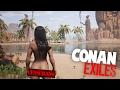 Sobreviver Nu No Deserto Conan Exiles novo