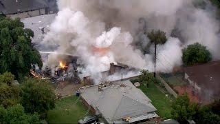 Pilot Among 3 Killed In Plane Crash That Destroyed 2 Homes