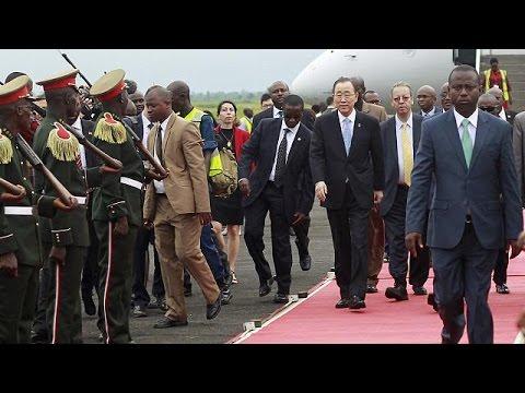 Επίσκεψη – αστραπή του ΓΓ του ΟΗΕ στο Μπουρούντι