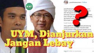 Video Ustad Yusuf Mansur Jangan Lebay Karena UAS Dan Aa Gym MP3, 3GP, MP4, WEBM, AVI, FLV April 2019