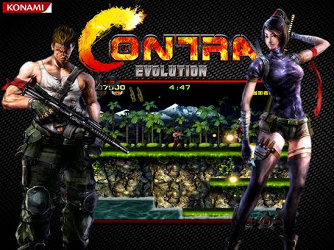 Contra Evolution - Arcade Gameplay