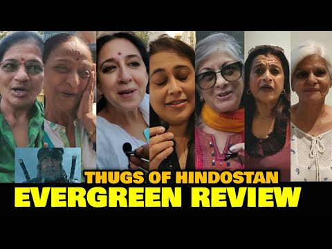 Thugs Of Hindostan EVERGREEN REVIEW By Evergreen Ladies | Amitabh Bachchan, Aamir Khan