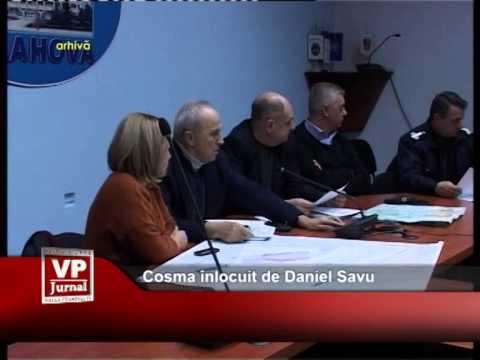 Cosma înlocuit de Daniel Savu