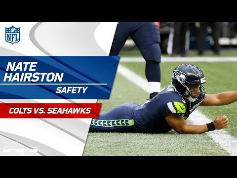 Video: Nate Hairston Takes Down Russell Wilson for the Safety