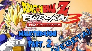 Dragon Ball Z HD Collection Walkthrough - Budokai 3 (Vegeta) Pt. 2