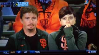 Man makes it on national television when Mike Krukow and Duane Kuiper poke fun at his drinking