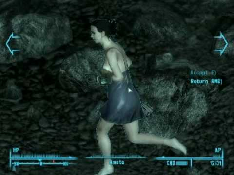Fallout3 - Saving Amata (from Enclave).avi