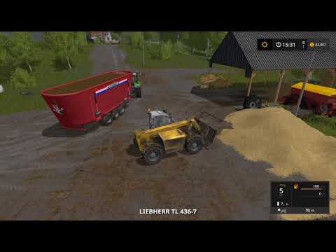Farming simulator 17 Timelapse $1Billion farming only challenge ep#43