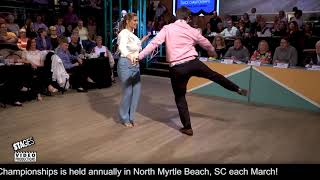 2019NSDC Junior II Division & Overall Champions - Mary Elizabeth Jacobs & Jackson Batten