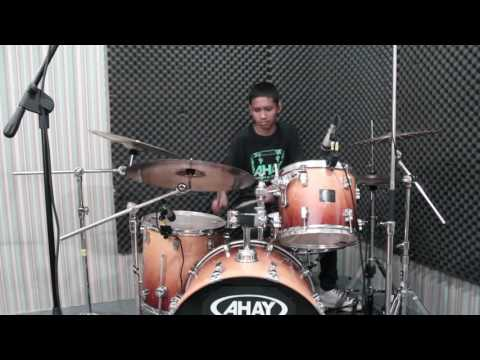 Zidane - Ahay Musik Indonesia - Spanky - Kevin Powell Drumless - Drum Cover