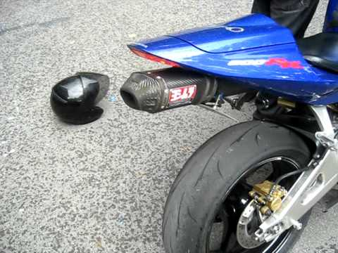Video My 2004 Honda CBR600RR Candy Blue Yoshimura RS-5 Exhaust 190 Tire download in MP3, 3GP, MP4, WEBM, AVI, FLV January 2017