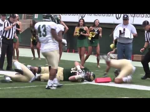 Ty Sambrailo 17-yard reception vs Cal Poly 2013 video.