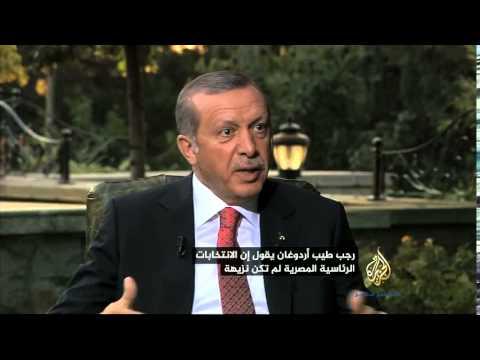 بالفيديو..  أردوغان  يفتح النار على السيسي