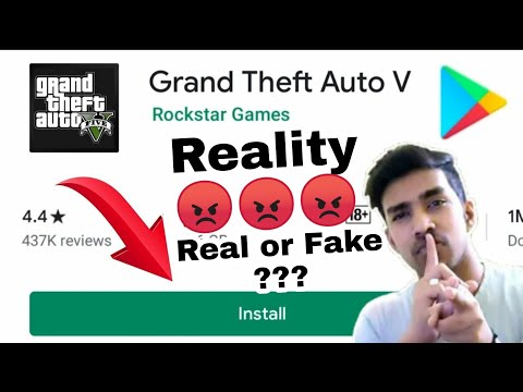 [TECHNO GAMERZ] HOW TO DOWNLOAD REAL GTA 5 FOR ANDROID 2020 | EXPOSE | REAL OR FAKE | GAMEPLAY
