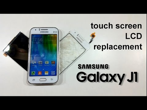 Samsung GALAXY J1 J100 Touch Screen Glass & LCD Display Replacement