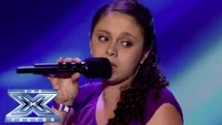 "Simone Torres - Revs Up with ""Mustang Sally"" - THE X FACTOR USA 2013"