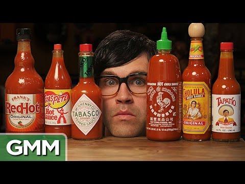 7 • E49___  _    The Blind Hot Sauce Taste Test