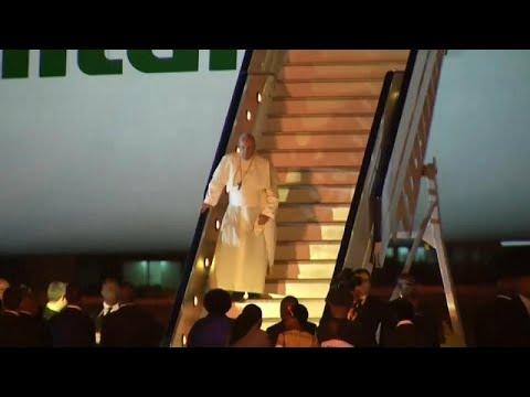 Afrikareise: Der Papst landet in Mosambik, es folgen  ...