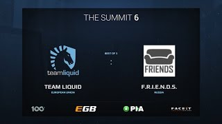 Liquid vs F.R.I.E.N.D.S., Game 1, The Summit 6 Qualifiers, Europe