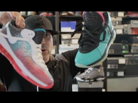 0 Nike LeBron 8 V2 Low Miami Nights   Video Review