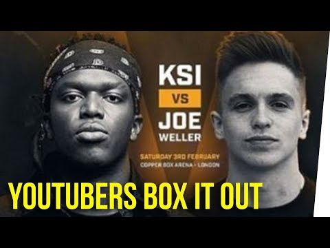 KSI & Joe Weller Box Out Their Problems ft. Nikki Limo & DavidSoComedy