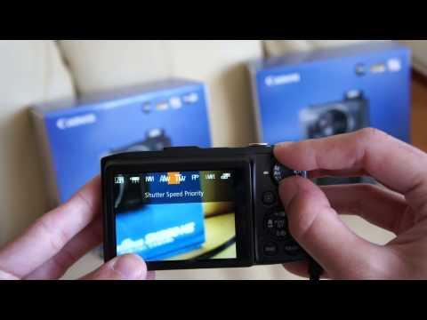 Canon Powershot SX280HS & SX270HS hands on review