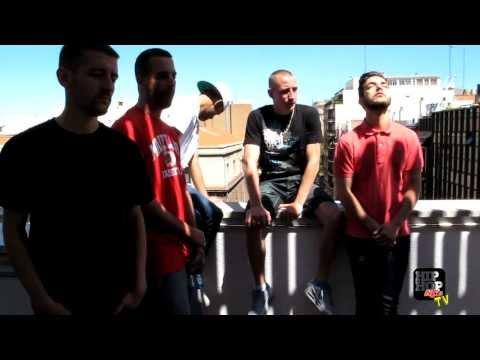 Making of en vídeo de las fotos de portada de Hip Hop Life #50