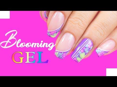 Uñas decoradas - Clase #9 Técnica Blooming Gel (esmalte semipermanente)//funnailstatyz