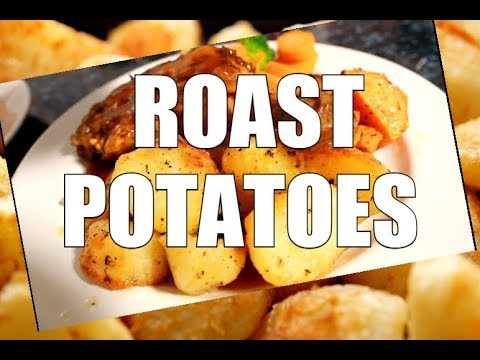 Best Roast Potatoes in WORLD - GARLIC ROASTED POTATOES  | Chef Ricardo Cooking