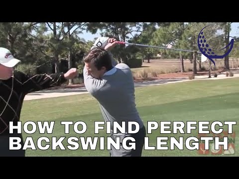 Learn Your Perfect Back Swing Golf Video