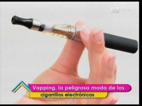 Vapping, la peligrosa moda de los cigarrillos electrónicos