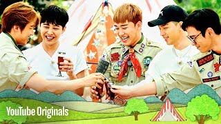 BIGBANG members gather at the campsite, eating their homemade lunches, as they discover what the camping trip holds in store for them. YouTube Red Originals - http://youtube.com/Red. If you live outside the United States, Mexico, New Zealand, Australia or South Korea, click here for more details on availability in your country: https://goo.gl/UEojxv.