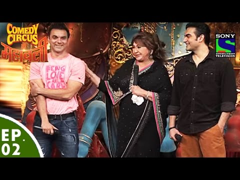 Comedy Circus Ke Mahabali – Episode 2 – Sohail, Arbaaz And Helen In Comedy Circus