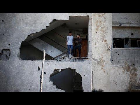 Gaza: Palästinenser verkünden Waffenruhe nach Eskalat ...