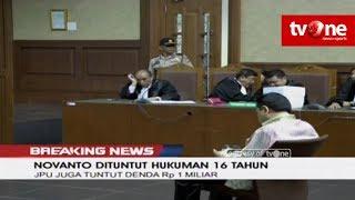 Video RESMI!! Novanto Dituntut Hukuman Penjara 16 Tahun dan Denda Rp 1 Miliar MP3, 3GP, MP4, WEBM, AVI, FLV Januari 2019