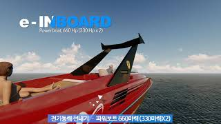video thumbnail 90hp Electric Inboard System youtube